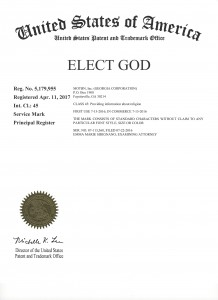 4 Elect God Trademark 3j